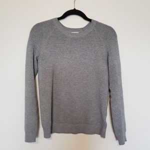 Old Navy Gray Petite Small Knit Sweater